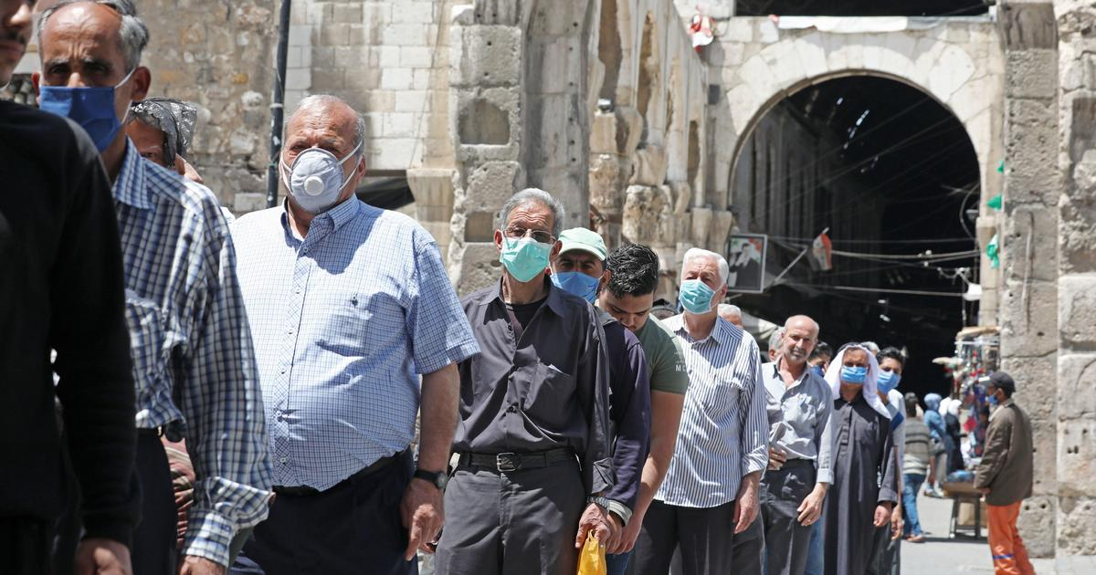 Syria may only be counting 1.25% of its actual coronavirus deaths