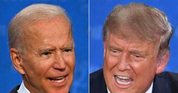"""""""Shut up, man"""": Biden and Trump make personal jabs during debate"""