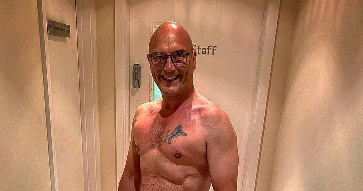 Gregg Wallace shows off ripped abs after his epic weight loss transformation