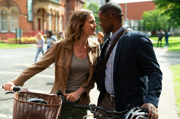 Kelly (RACHEL STIRLING), David (ADRIAN LESTER)
