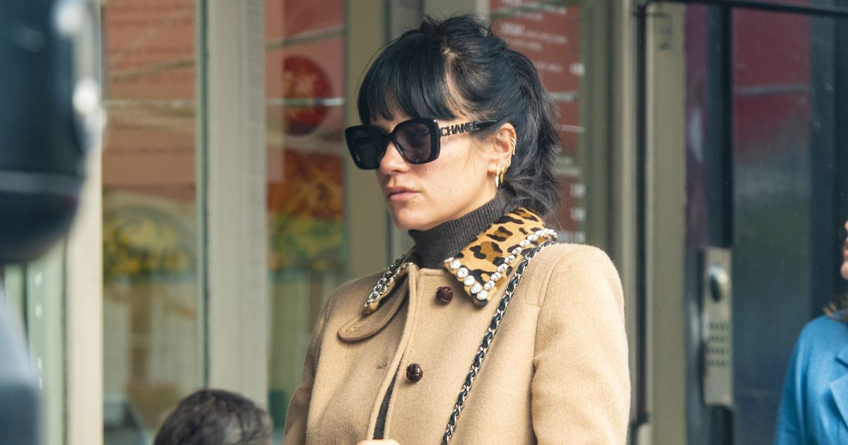 Lily Allen flashes wedding ring on glam day out after quietly tying the knot
