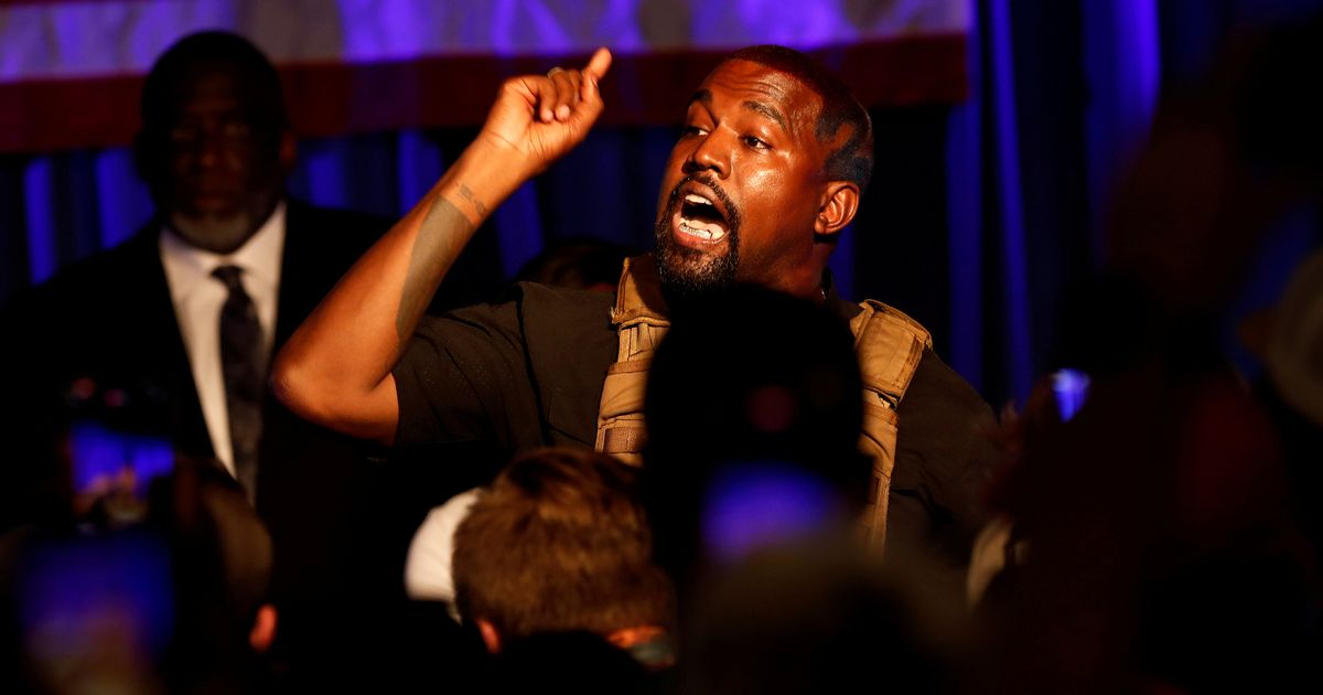 Kanye West says 'slavery is a choice' as he builds huge wall around his house