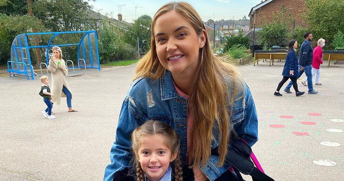 Jacqueline Jossa left with broken heart as daughter Ella goes back to school