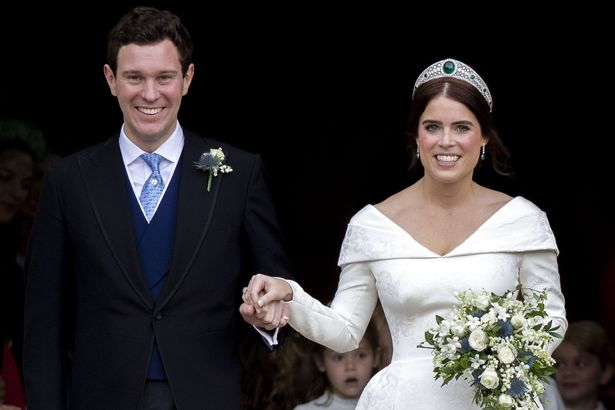 The bombshell was dropped at Eugenie's wedding