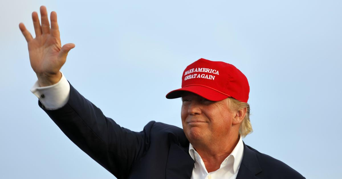 "Black voter confronts Trump on ""MAGA"" slogan"