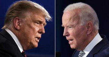 President Trump and Joe Biden spar in first 2020 debate