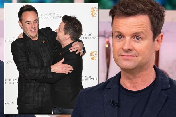 Declan Donnelly says he was terrified to become solo TV presenter if Ant McPartlin quit showbiz