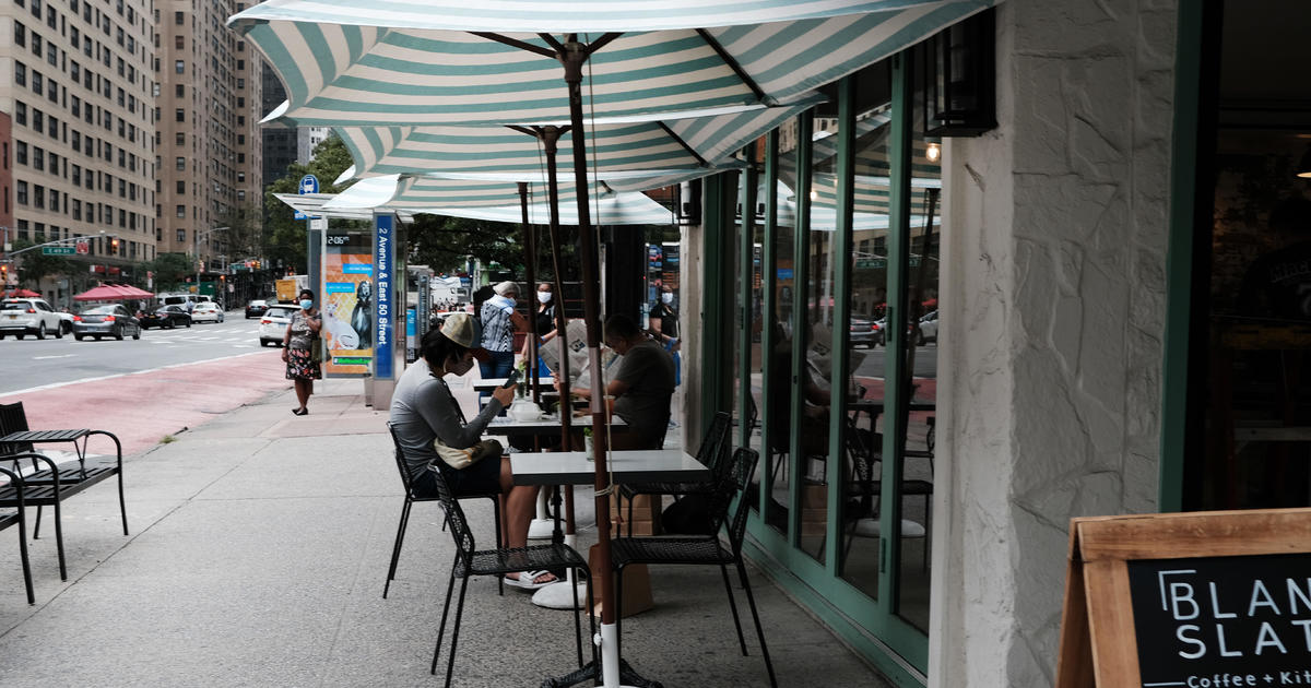 Indoor dining in New York City can resume later this month