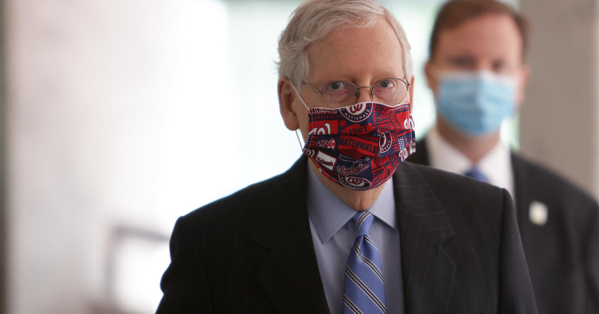 McConnell says Senate will vote on slimmed-down COVID bill Thursday