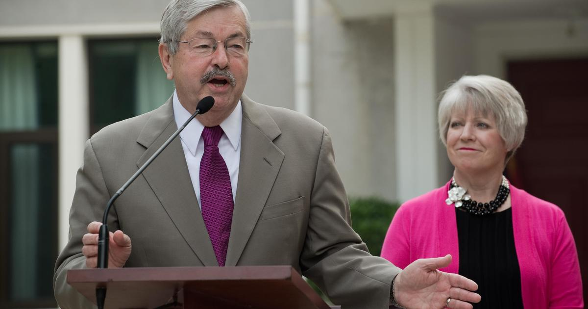 U.S. Ambassador to China Terry Branstad is stepping down