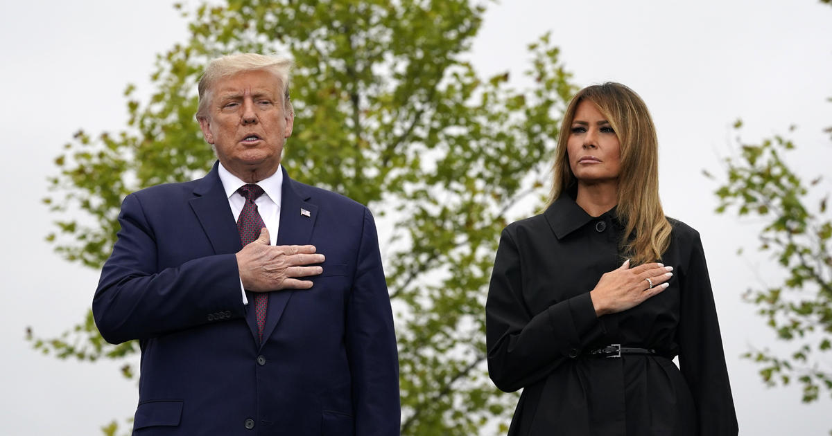 Trump pays homage to Flight 93 passengers and crew in Shanksville