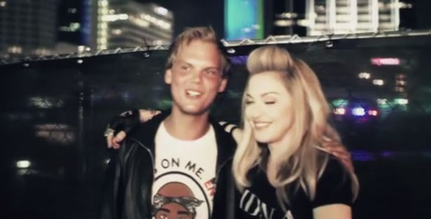 Avicii headlined a festival with Madonna
