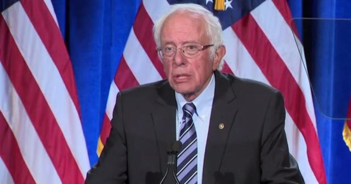 Bernie Sanders says Trump threatens to undermine American democracy