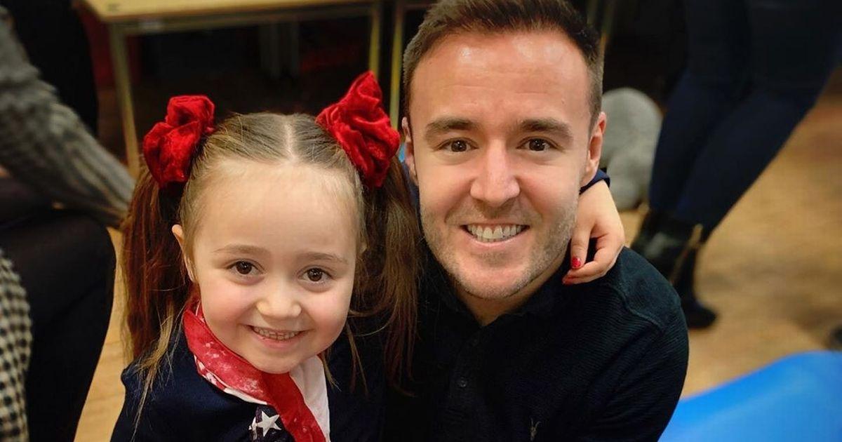 Corrie's Alan Halsall celebrates daughter's seventh birthday in cute Insta post