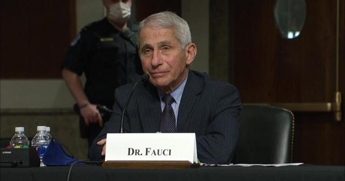 Dr. Anthony Fauci answers questions about coronavirus vaccine