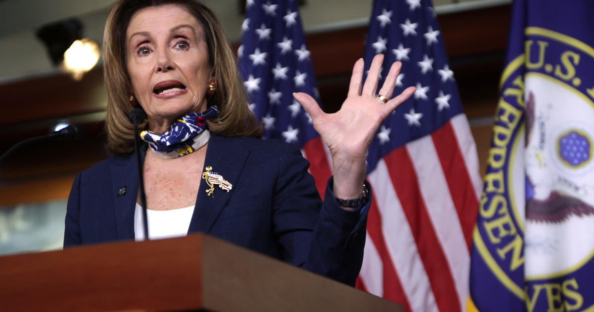 Pelosi pushes against Dems frustrated over COVID relief negotiations