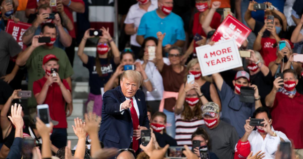Trump's reelection bid blew through $830 million before Labor Day