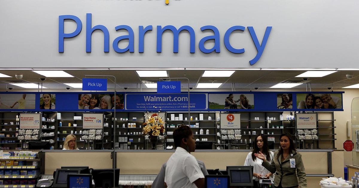 Walmart sues U.S. over its responsibility in opioid crisis
