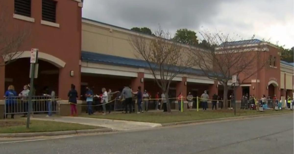 Georgia sees record early voting as candidates vie for key state