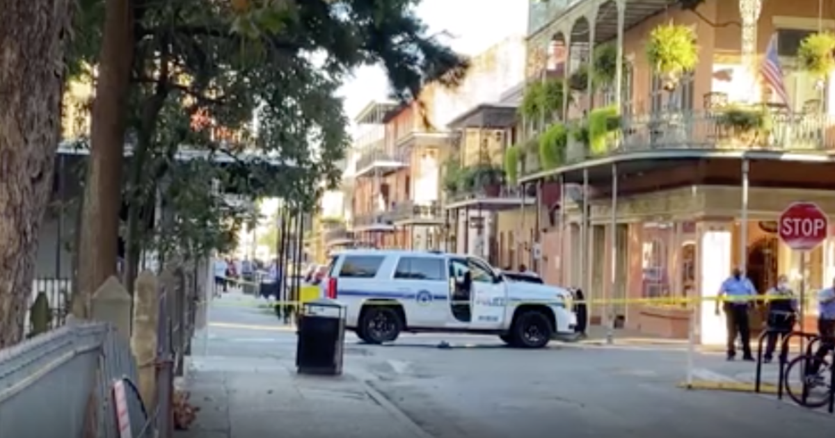"New Orleans cop shot in the face after two officers ""ambushed"""