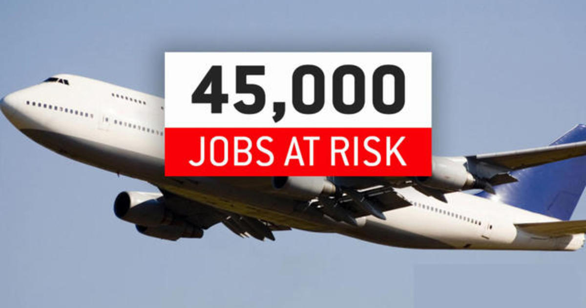 Thousands of U.S. airline industry workers face furloughs and layoffs