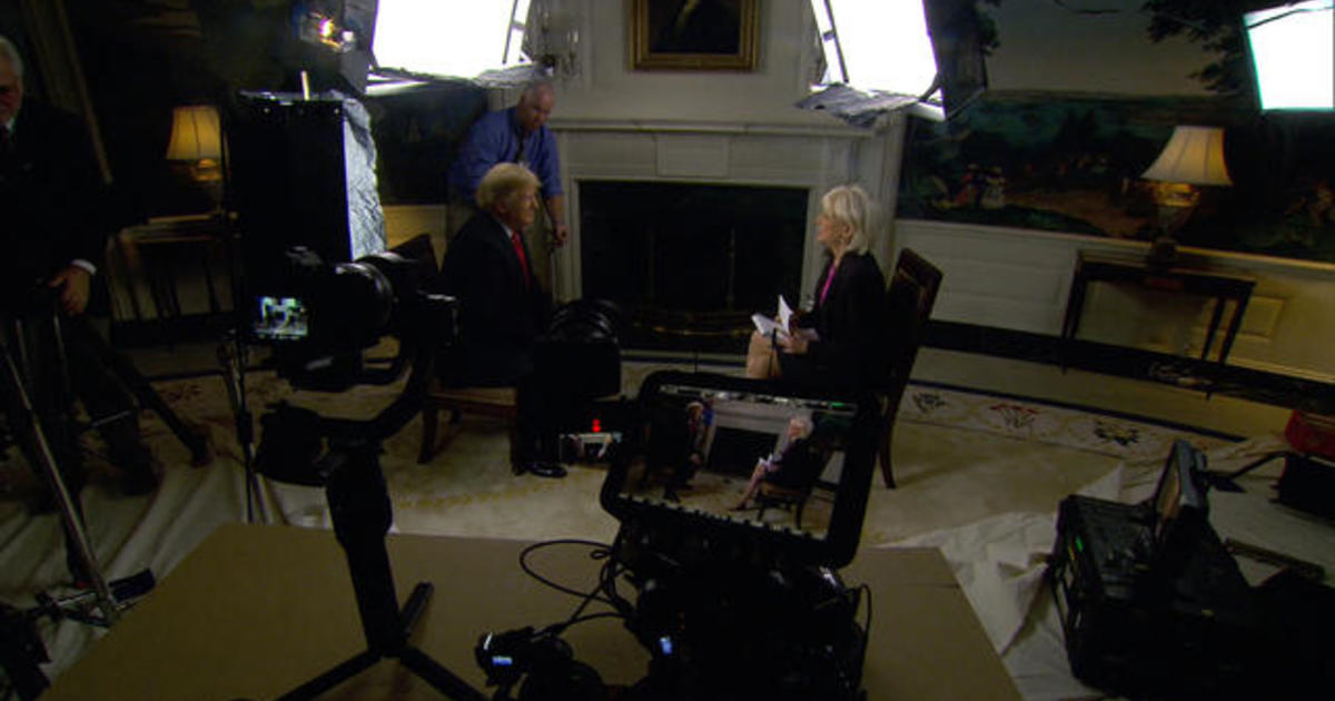 Lesley Stahl on what it's like to interview Trump