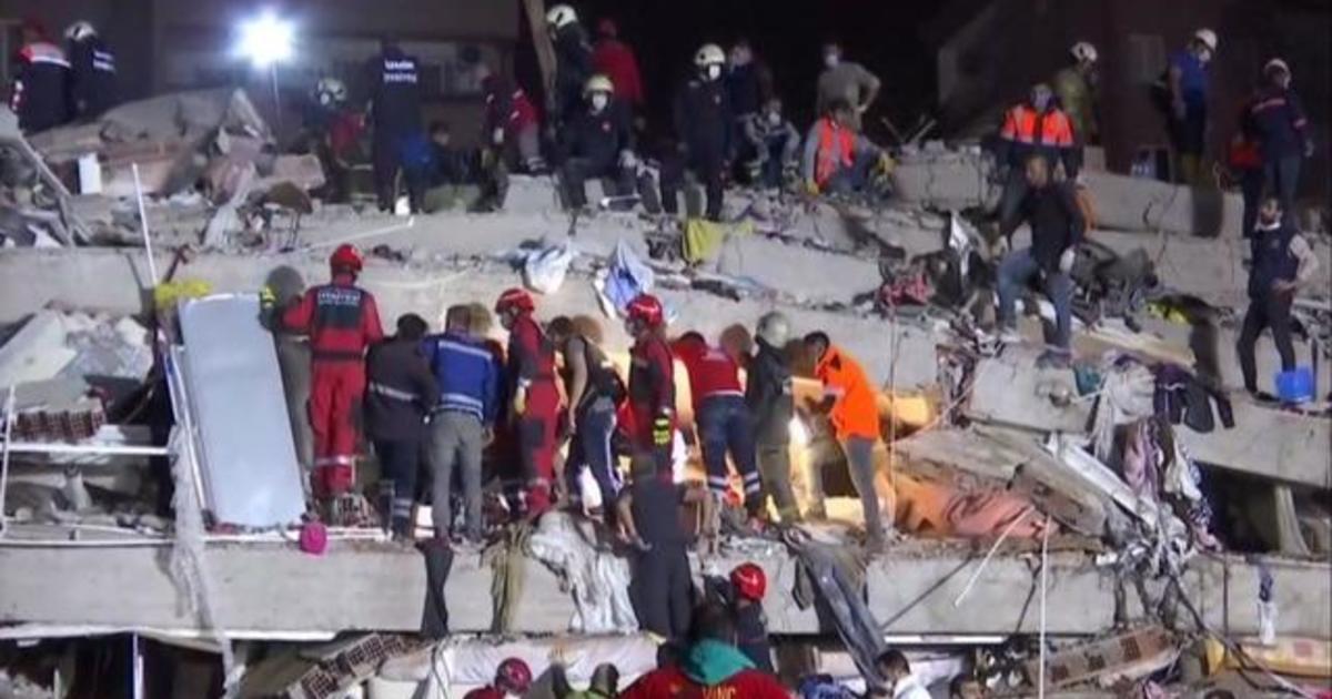 Deadly earthquake strikes off the coast of Turkey