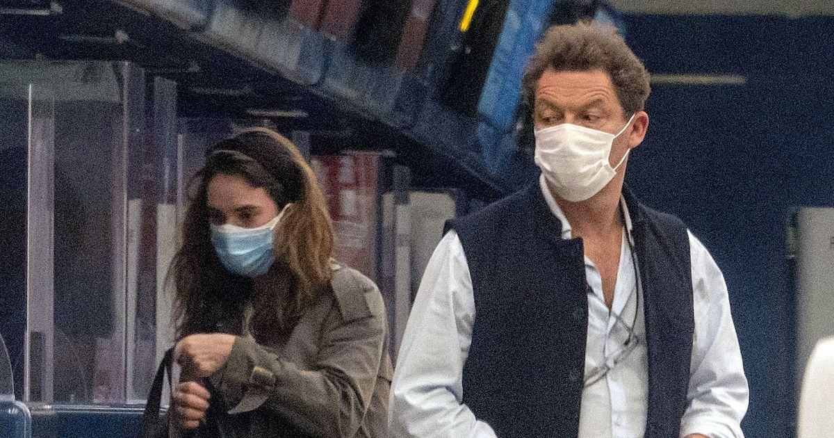 Dominic West and Lily James 'seen kissing on flight to Rome' before damning pics