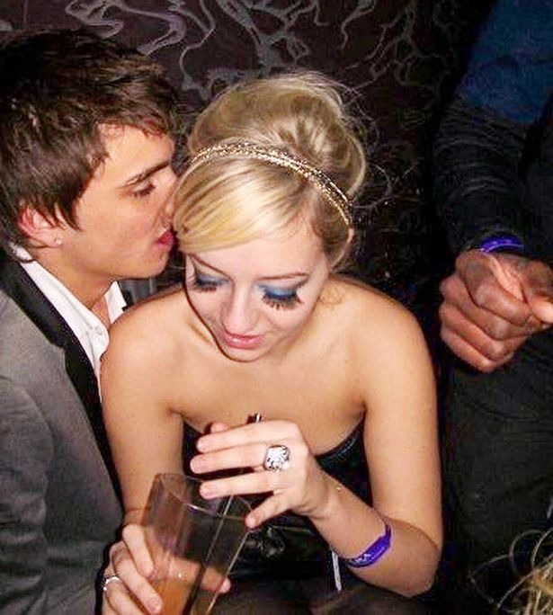 Tom Parker pictured chatting Kelsey up the very first night they met