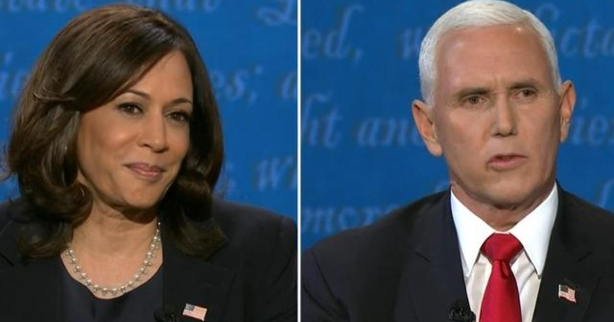 Pence and Harris spar over climate change, fracking and the U.S. economy