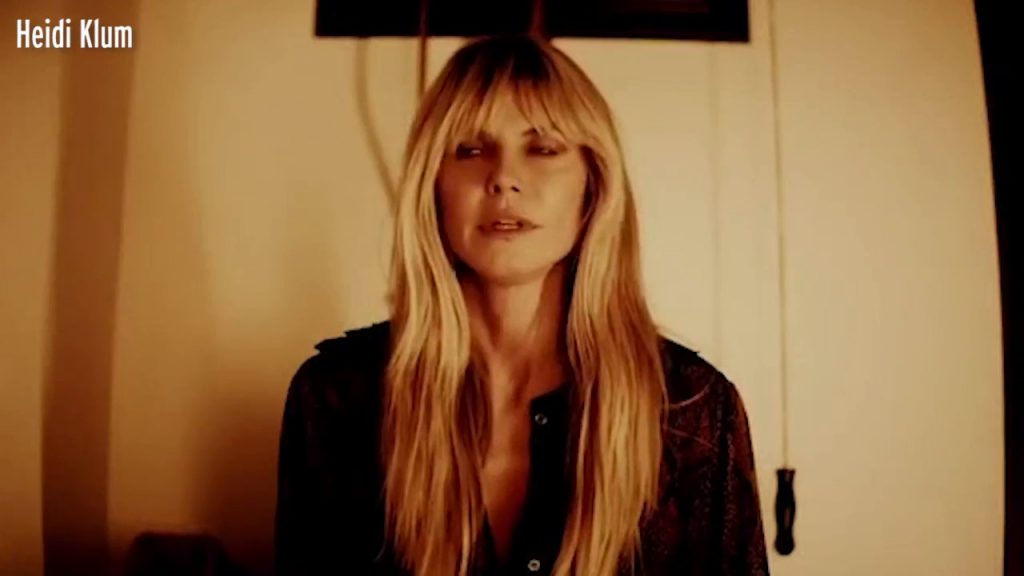 Heidi Klum looks unrecognisable in haunting homemade