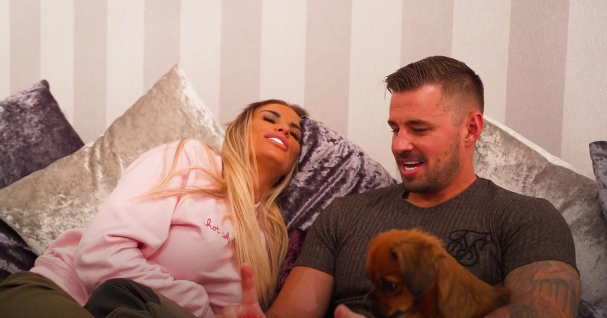 Katie Price swoons as Carl Woods has romantic confession about their future