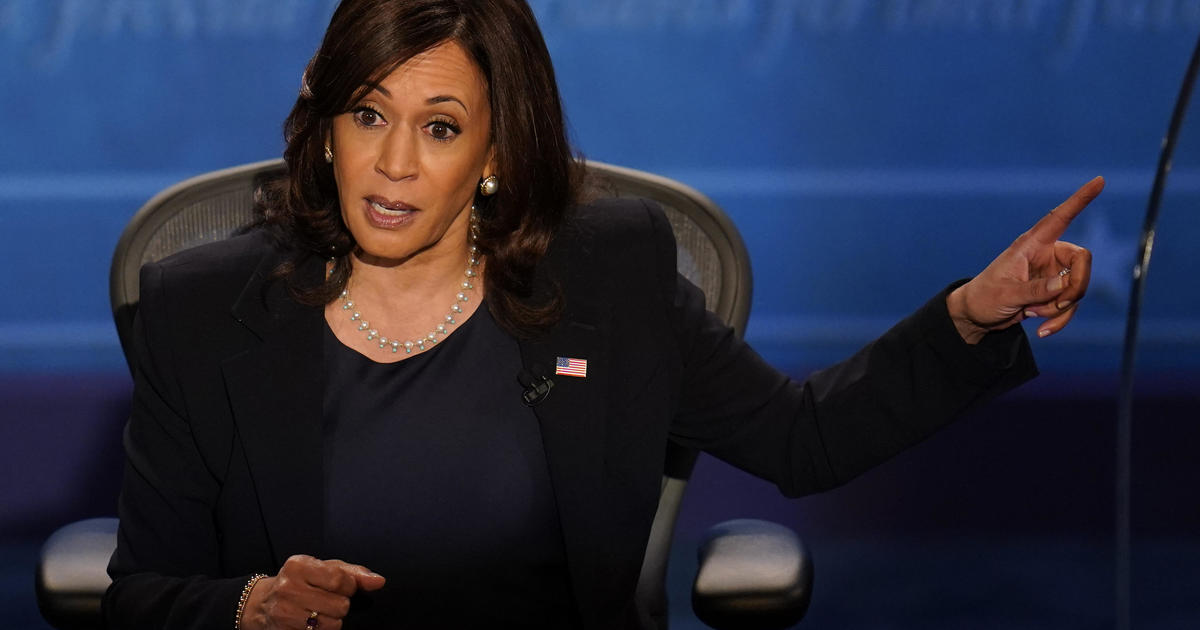 Harris says a Biden administration will not ban fracking