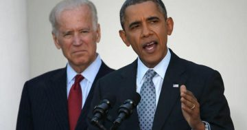 Former President Obama holds first in-person campaign event for Joe Biden