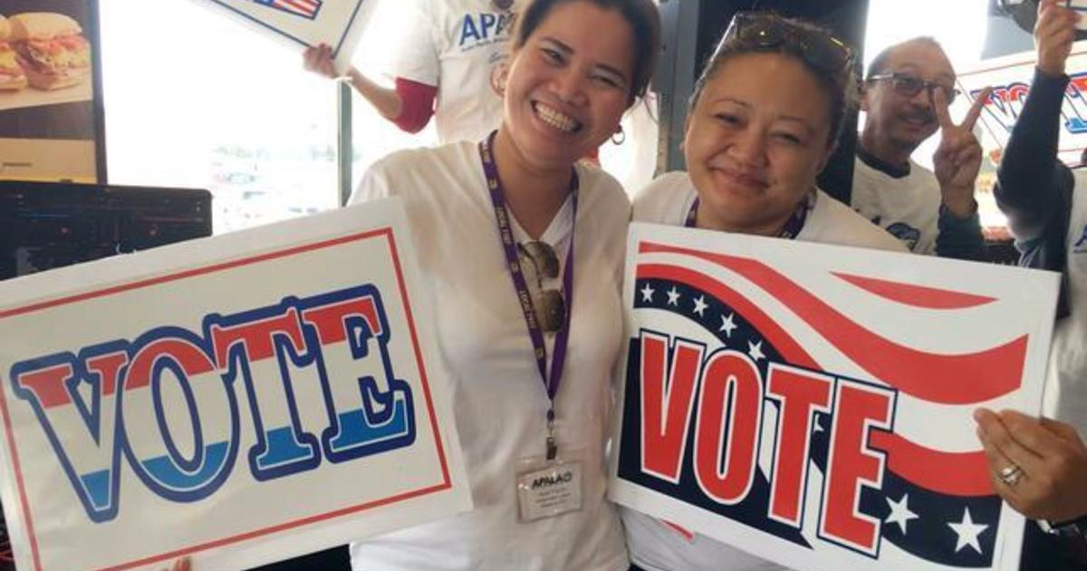 The voting power of Asian Americans