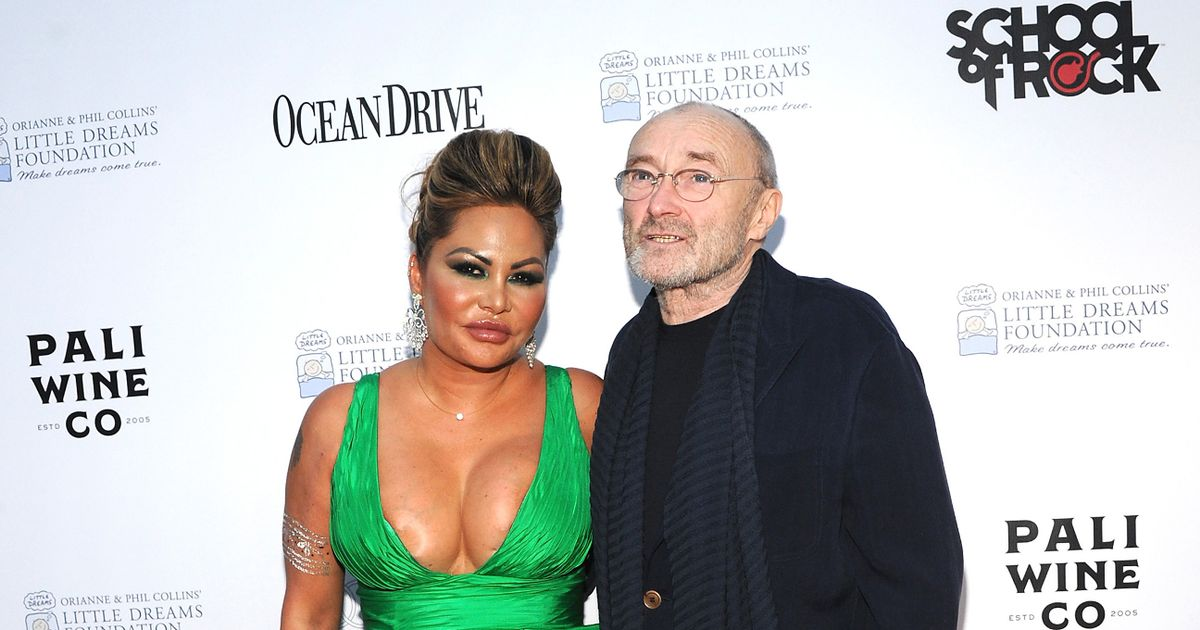 Phil Collins 'devastated as wife dumps him by text and marries someone else'