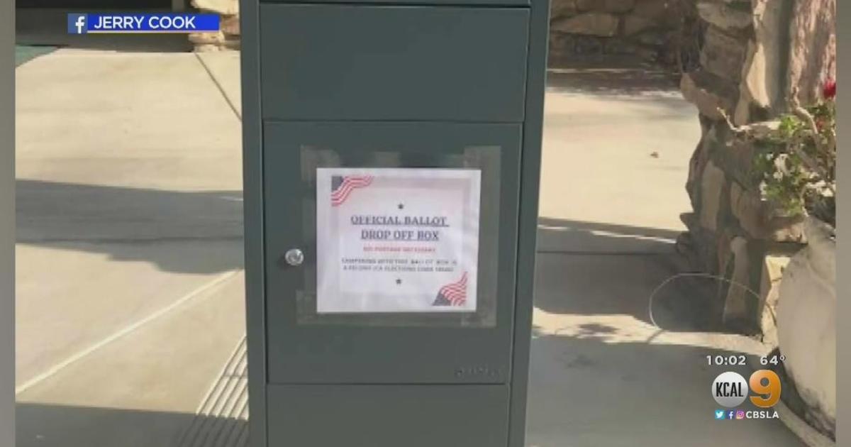 California elections officials order GOP to remove drop ballot boxes