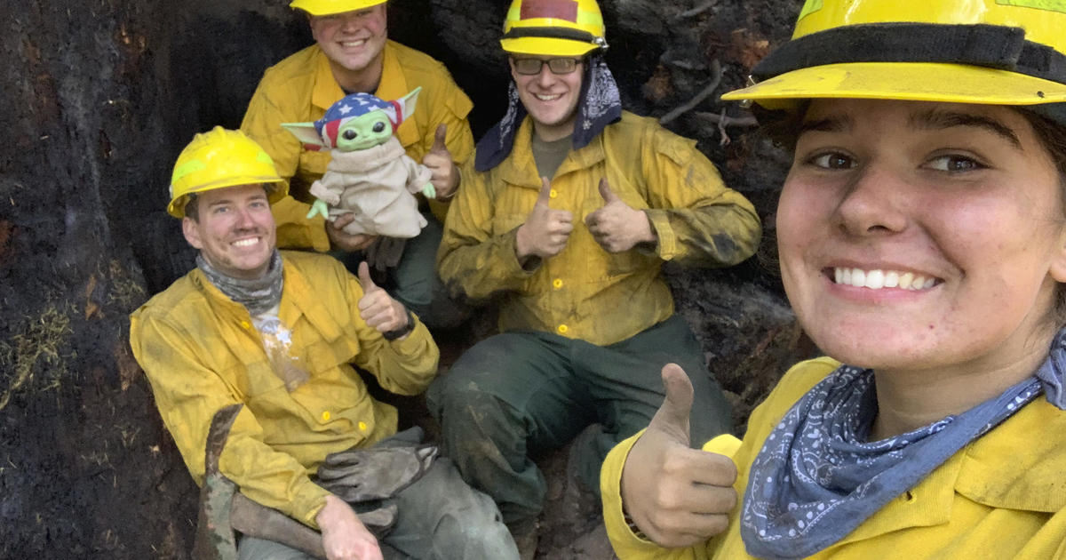 5-year-old donates Baby Yoda doll to firefighters