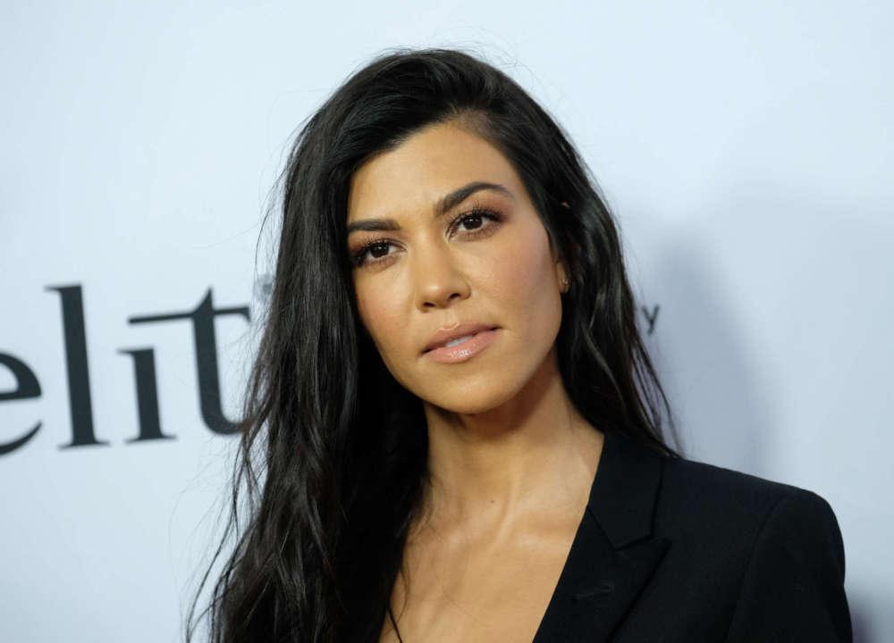 Kourtney Kardashian Blasted On Social Media For Promoting Kanye West's Presidential Campaign