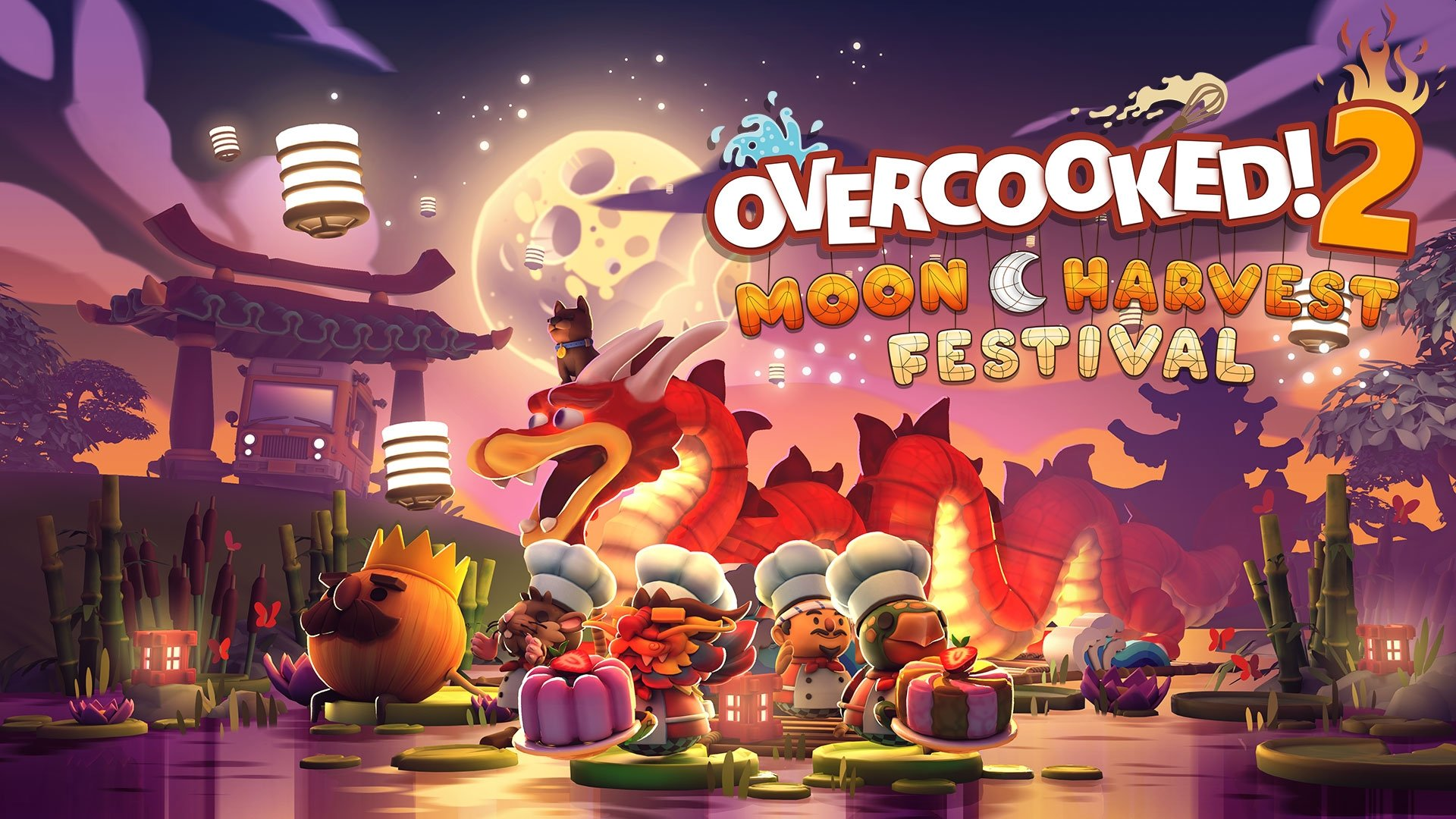 Overcooked! 2 Celebrates The Mid-Autumn Festival With New Moon Harvest Update