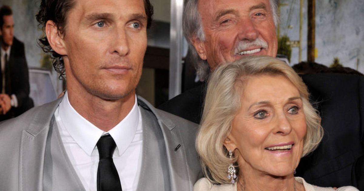 Matthew McConaughey says dad died 'at climax' while making love to his mum