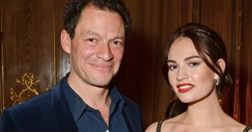 Dominic West and Lily James 'break tough Covid rules' with tandem scooter ride
