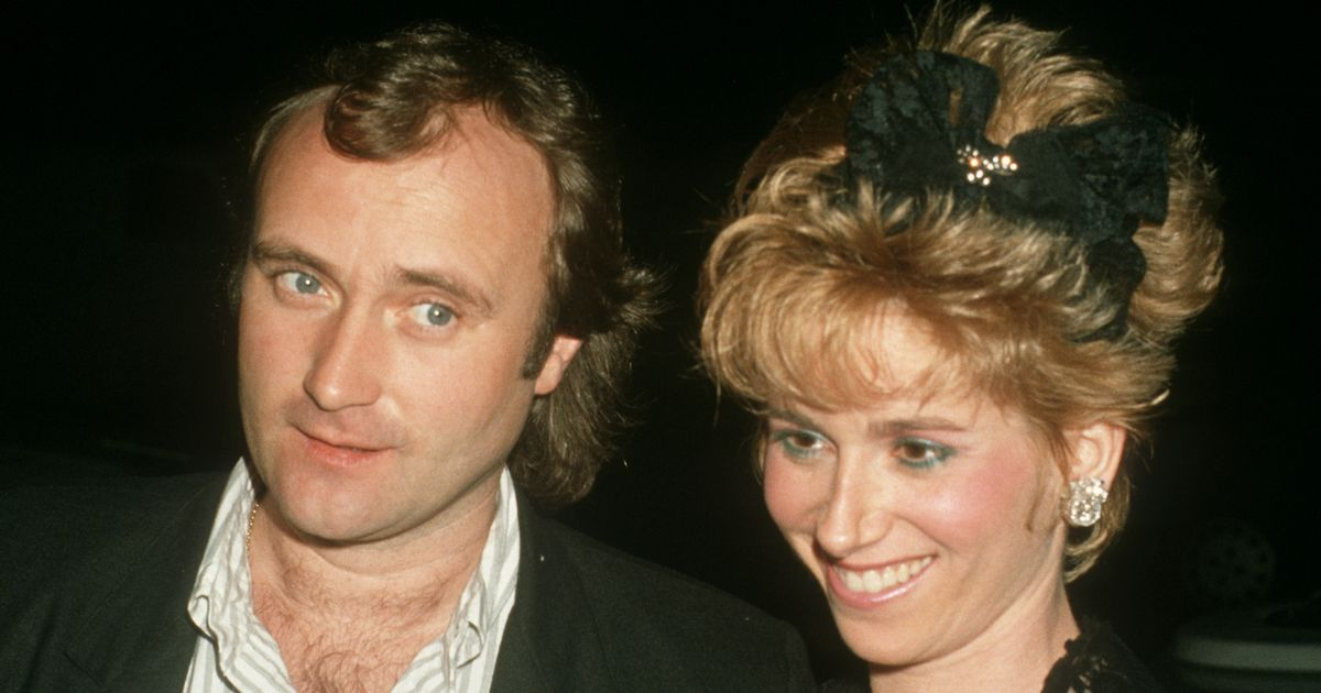 Phil Collins was once accused of dumping second wife by fax