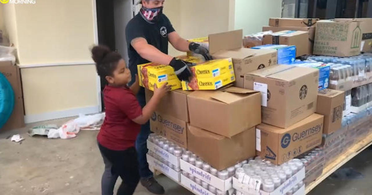 Boy who was bullied makes it his mission to help others by giving away truckloads of supplies