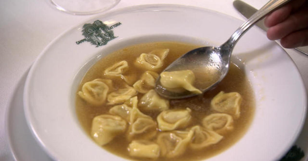 Tortellini: Comfort food in any language
