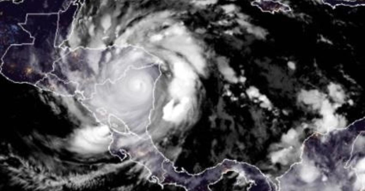 Hurricane Iota mimics Eta as it pounds Central America