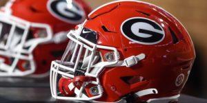 Georgia Bulldogs, helmet