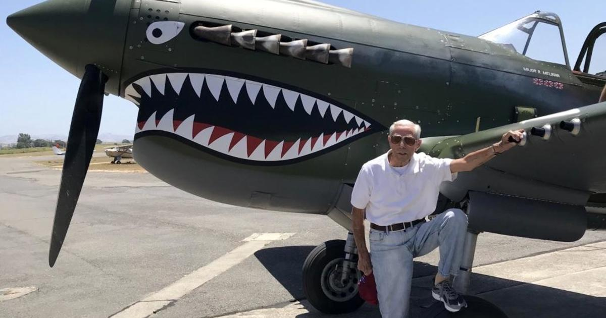 WWII fighter pilot takes to the skies on 100th birthday