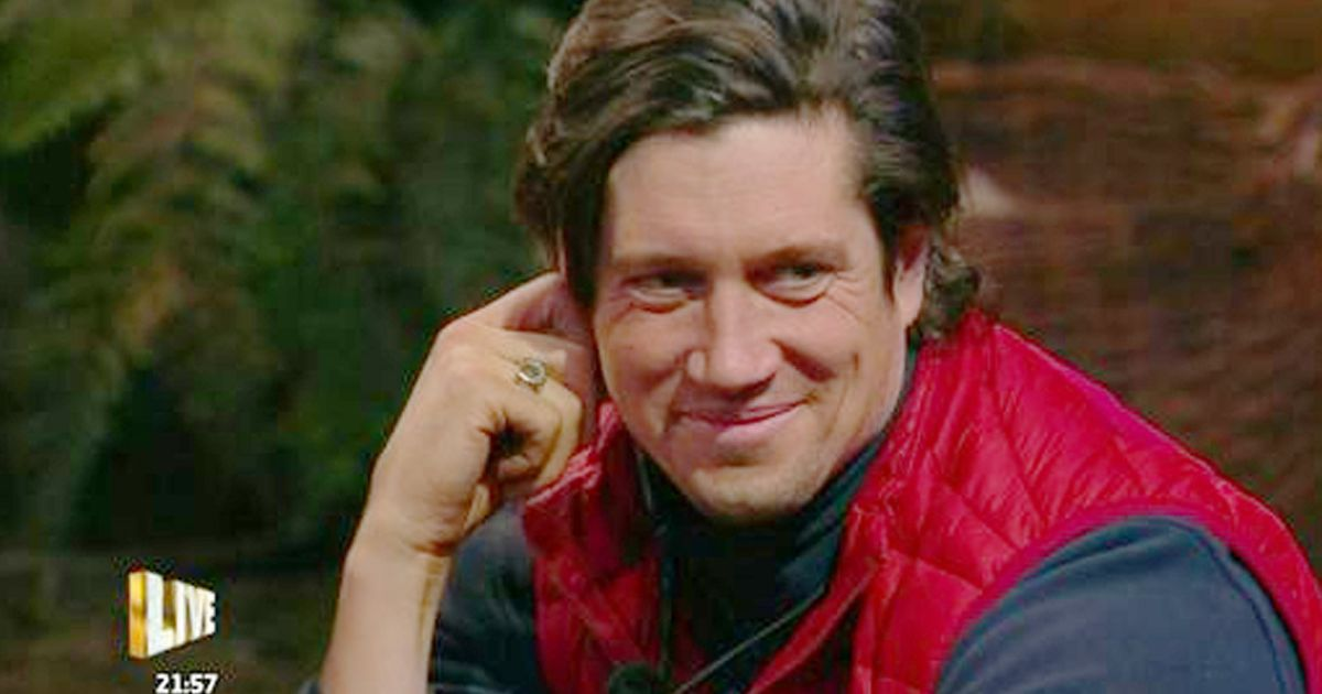 Vernon Kay sends secret messages to wife and daughters from I'm a Celeb camp