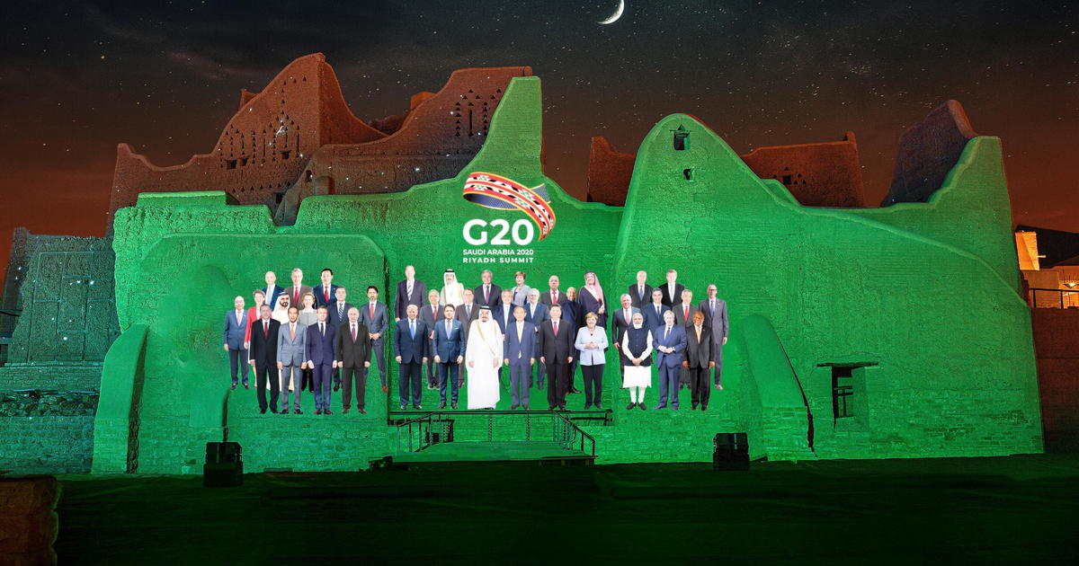 All-virtual G20 summit opens with Saudi Arabia as host